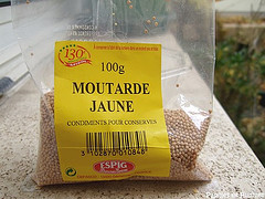 grains de moutarde