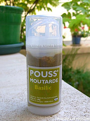 Moutarde au basilic