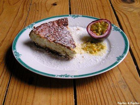 Image Papilles et Pupilles -Cheesecake Caraibos