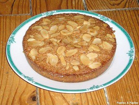 Image Papilles et Pupilles - Gâteau Maury aux amandes