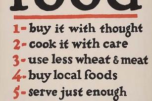 Ne gaspillez pas la nourriture