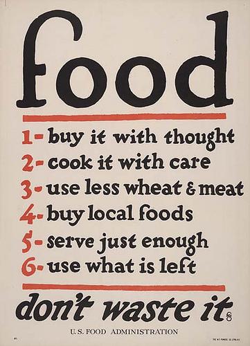 Food - ne gaspillez pas la nourriture
