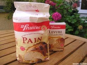 Pain à la farine Francine en MAP