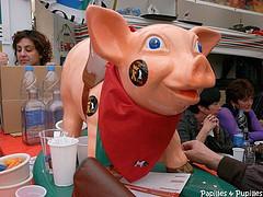 Cochon tout rose