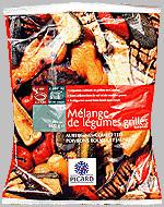 légumes grillés surgelés Picard