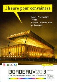 Bordeaux, capitale Européenne de la culture
