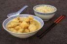 Poulet au curry express et nouilles thaï