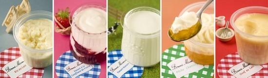 Image Papilles et Pupilles - Desserts Bonne Maman