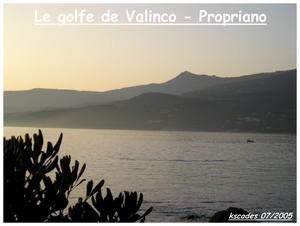 Corse - Golfe de Valinco