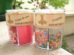 sucres colorés