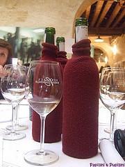 bouteille de vins pour dégustation
