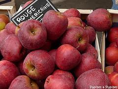Pommes rouges américaines