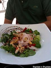 salade chipirons